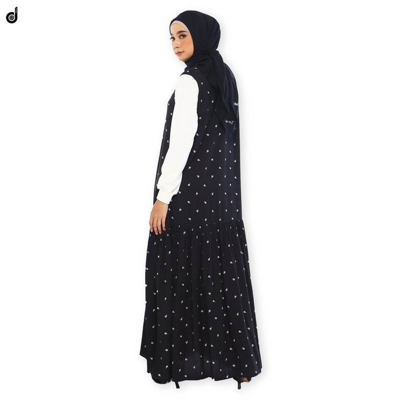 DRESS DEENAY SYDNEY AKSARA BLACK
