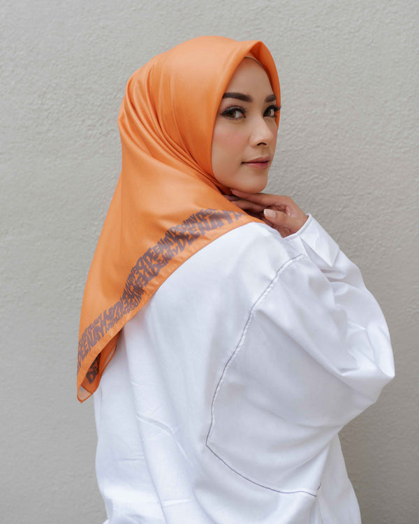 HIJAB DEENAY MELMA ORANGE
