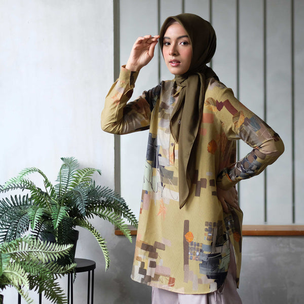 BLOUSE DEENAY MENNY OLIVE