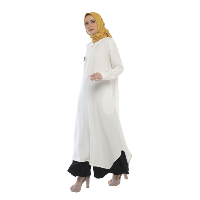 TUNIC DEENAY ZANET WHITE NEW