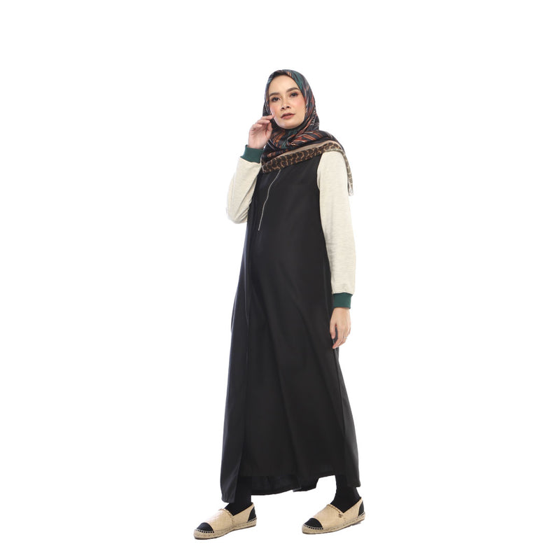DRESS DEENAY ZAGY BLACK