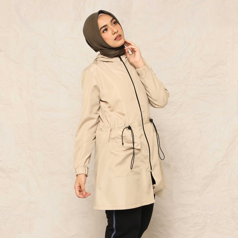 COAT DEENAY ACTIVE CREAM