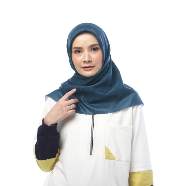 HIJAB DEENAY SILSILA ROYAL BLUE