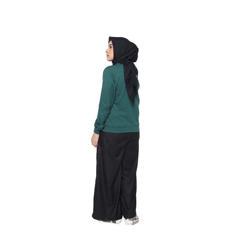 SWEATSHIRT DEENAY DIXIE GREEN