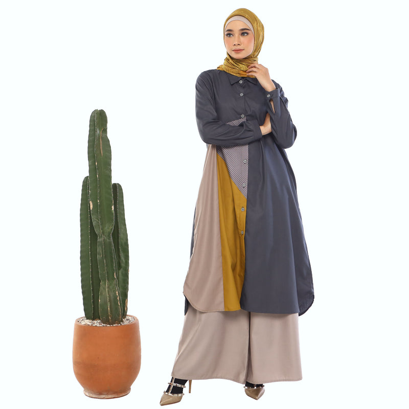 TUNIC DEENAY BELLY GREY