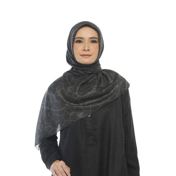 HIJAB DEENAY CHAIN DARK GREEN