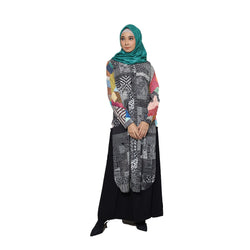 TUNIC DEENAY FANCY BLACK