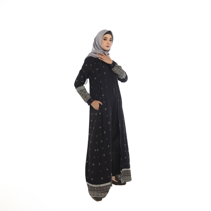 LONG TUNIK DEENAY DIVYA BLACK