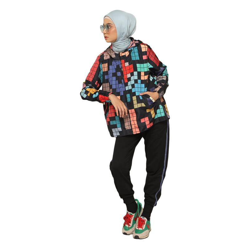 JACKET DEENAY TETRIS BLACK