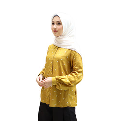 SHIRT DEENAY ASIMA AKSARA YELLOW