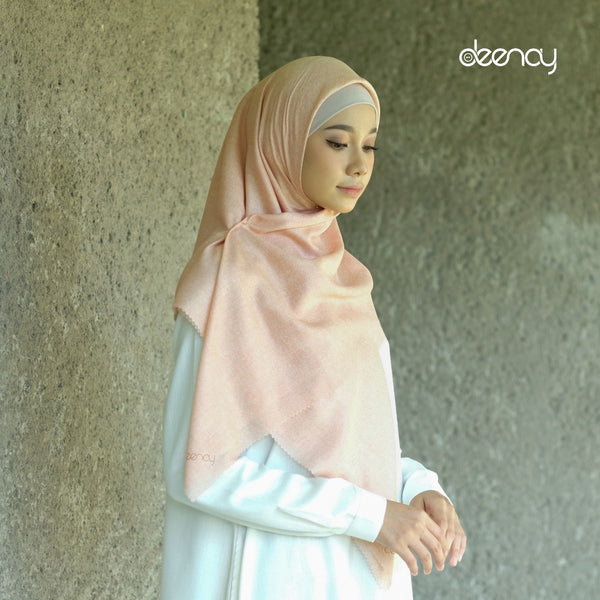 HIJAB DEENAY DENIM PLAIN DUSTY PINK