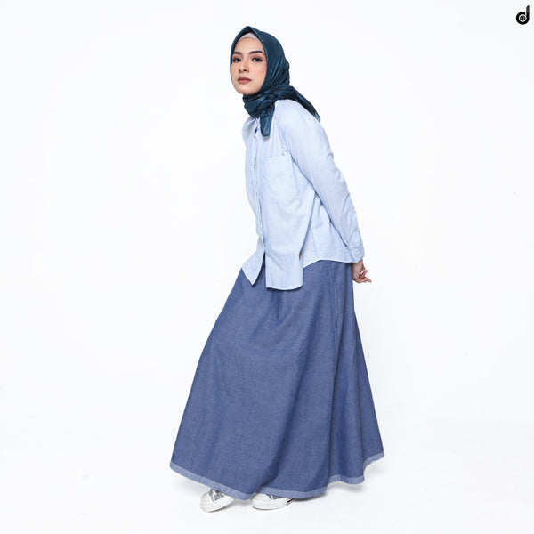 SHIRT DEENAY BASIC STRIPED BLUE