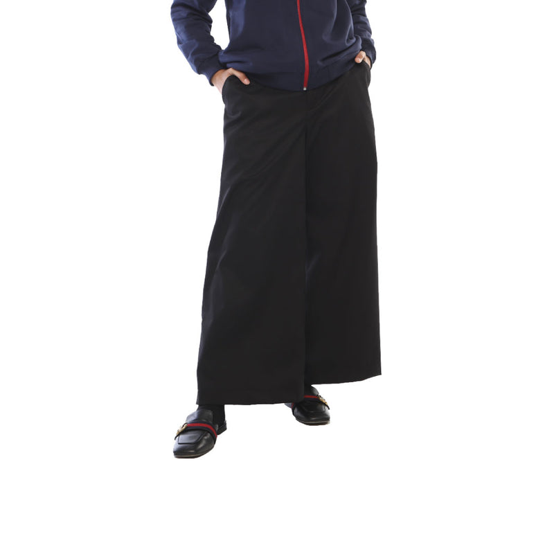 PANTS DEENAY BASIC WIDE LEG BLACK