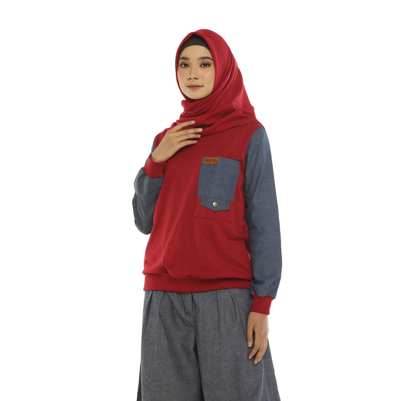 SWEATSHIRT DEENAY SILLO RED