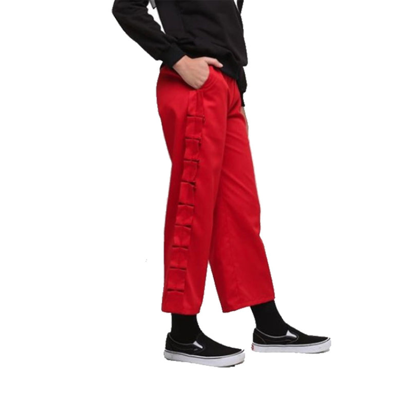 PANTS DEENAY PLEAT RED