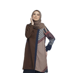 TUNIC DEENAY SALWA BROWN