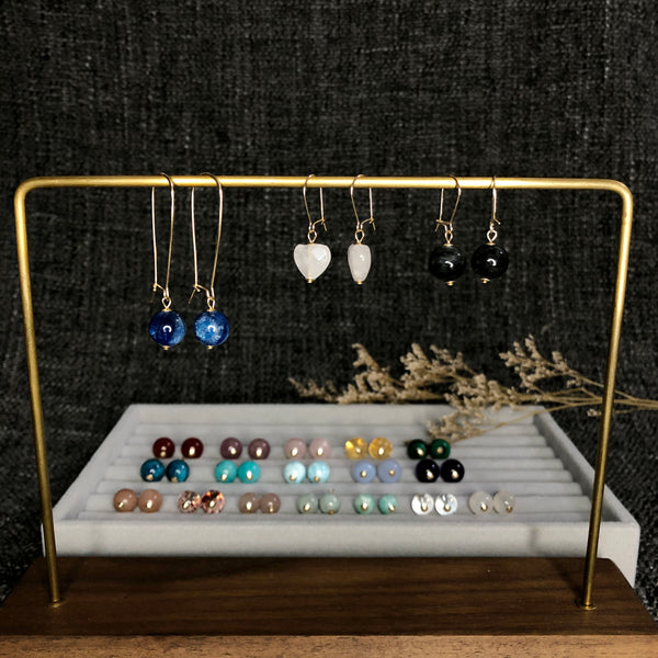 Ear Hoops for Charm Earrings