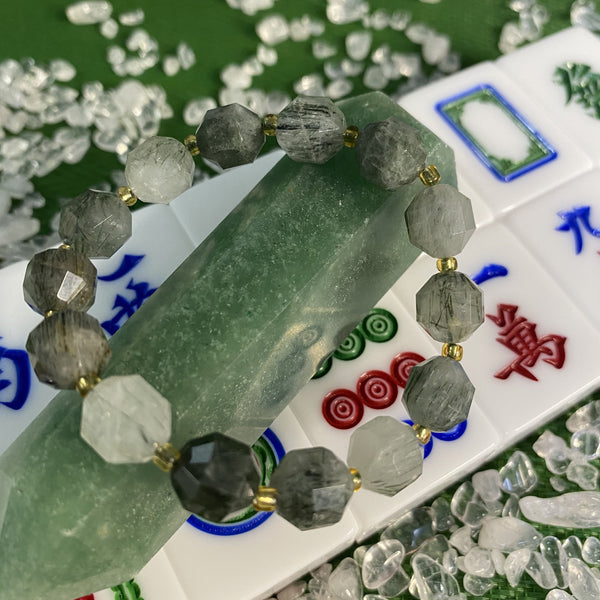 Green Rutilated Quartz