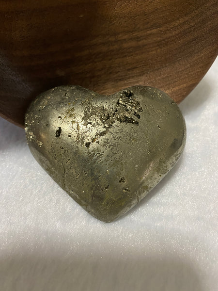 Pyrite Puffy Heart