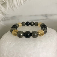 Citrine, Pyrite, Golden Onyx