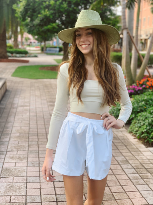 Savannah Satin Shorts - Haute & Honey