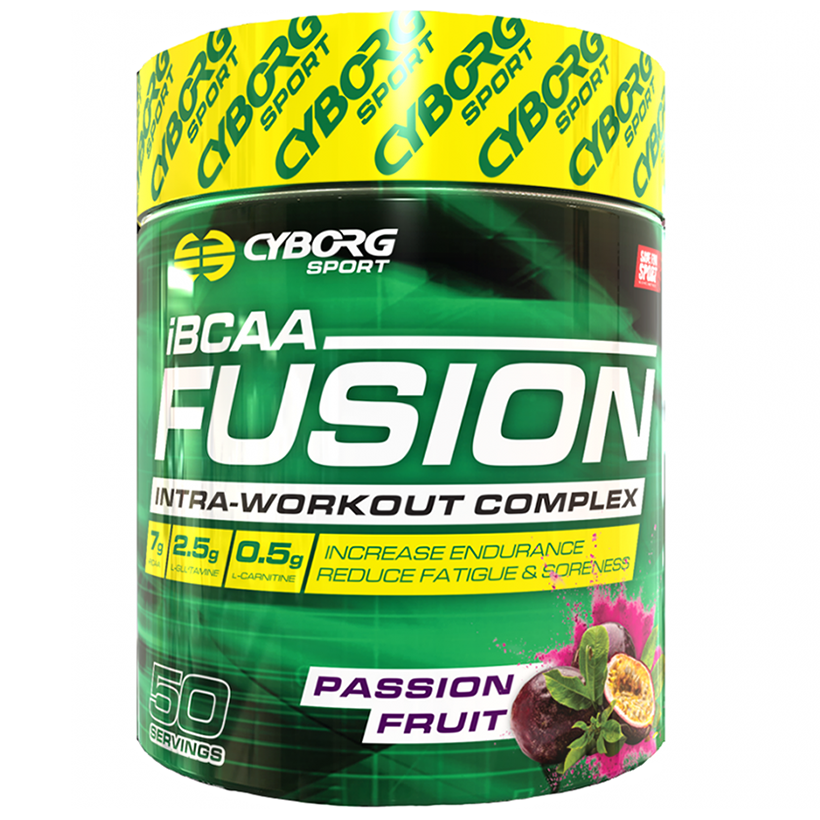 Cyborg Sport Fusion iBCAA 585g 50 Serves Passion Fruit
