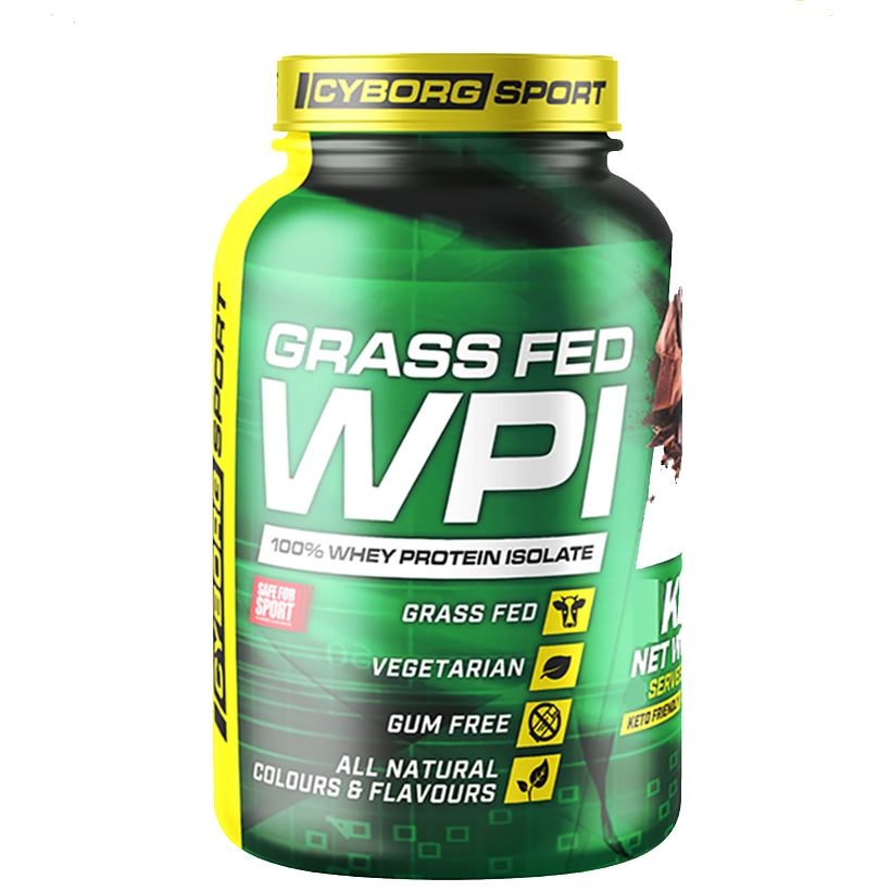 Cyborg Sport Grass Fed WPI 1kg 33 Serves Vanilla Ice Cream