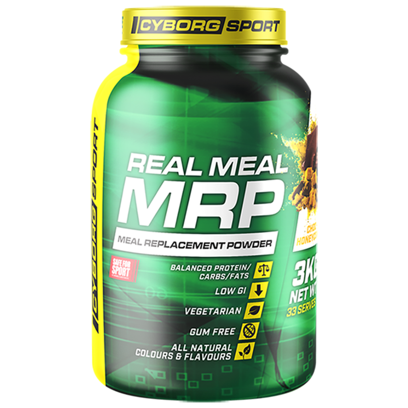 Cyborg Sport Real Meal MRP 3kg 32 Serves Chocolate