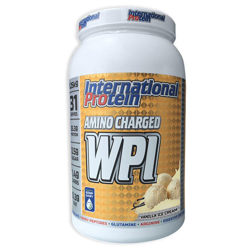 International Protein Whey Protein Isolate. 1.25kg.