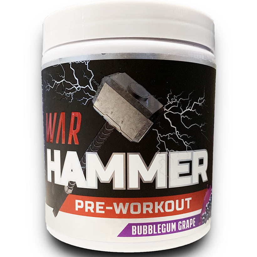 War Hammer Pre Workout. 30 Serves.