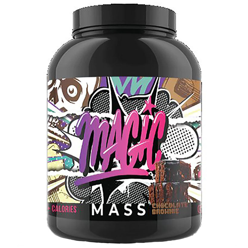 Magic Sports Nutrition Mass Gainer 2.2Kg 22 serve Chocolate Brownie