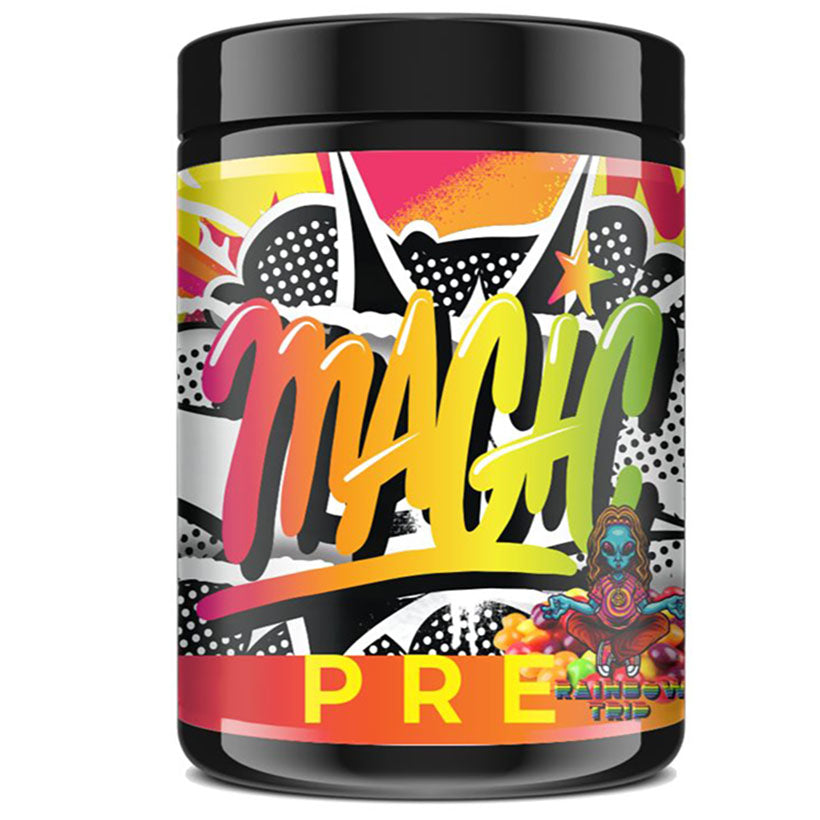 Magic Sports Nutrition Pre Workout 320g 20 serve Rainbow Trip