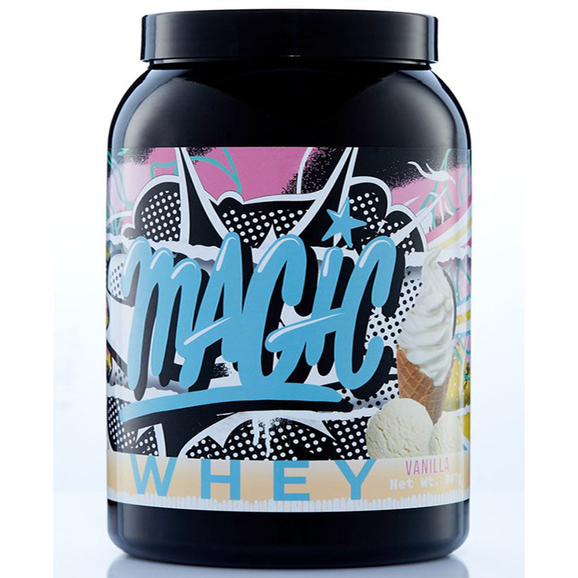 Magic Sports Nutrition Whey Protein 907g 25 Serves Vanilla Ice Cream