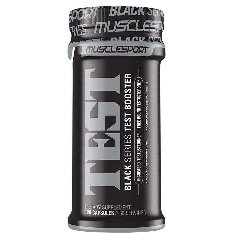 MuscleSport Test Black. 120 Capsules.