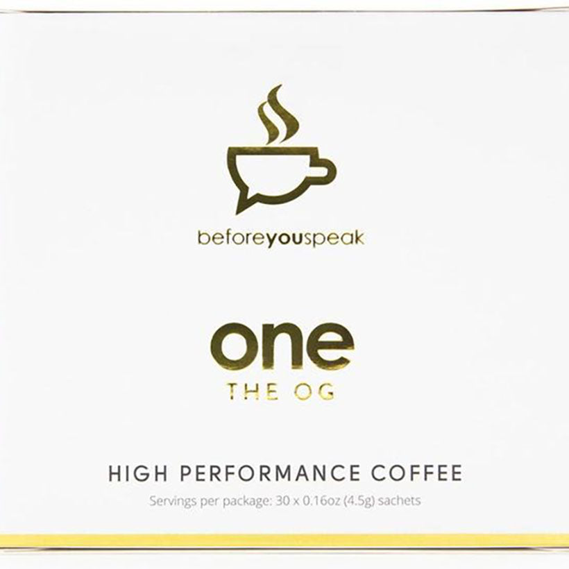 Before You Speak High Performance Coffee 30 Sachets