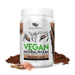 White Wolf Vegan Natural + Lean Protein Blend 900g Chocolate Malt