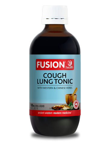 Fusion Cough Lung Tonic Liquid - 100 mL