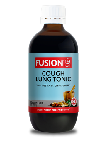 Fusion Cough Lung Tonic Liquid - 200 mL