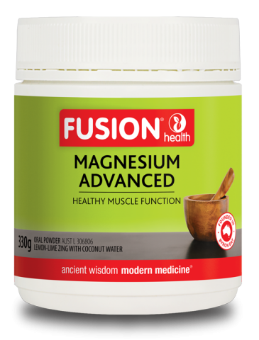 Fusion Magnesium Advanced Powder Lemon-Lime Zing-330mg