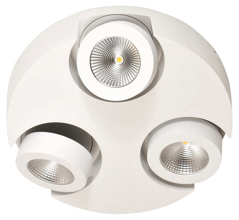FABAS-LUCE LED-Deckenleuchte anb 15W ws