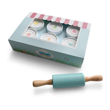 Load image into Gallery viewer, Dough Parlour Silicone Rolling Pin - Robin's Egg
