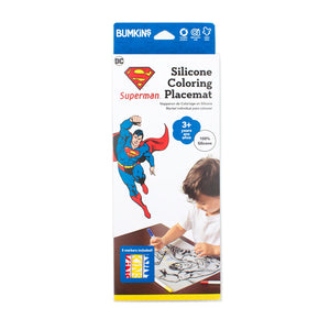 Silicone Colouring Placemat - Superman