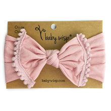 Load image into Gallery viewer, Pom Pom Headband - Dusty Rose