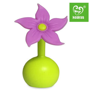 Purple Breast Pump Flower Stopper