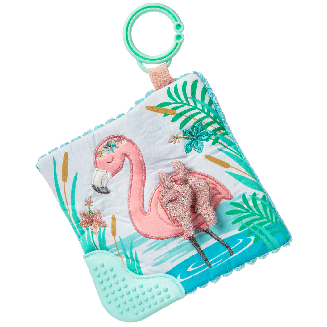 Tingo Flamingo - Crinkle Teether