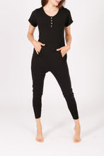 Load image into Gallery viewer, AnyDay Romper in Midnight Black