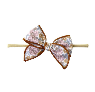 Edged Bow | Vintage Floral