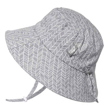 Load image into Gallery viewer, PREORDER Grey Herringbone | Cotton Bucket Hat