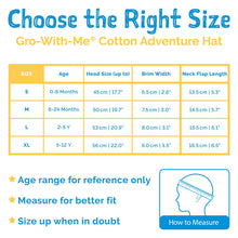 Load image into Gallery viewer, Navy | Cotton Adventure Hat