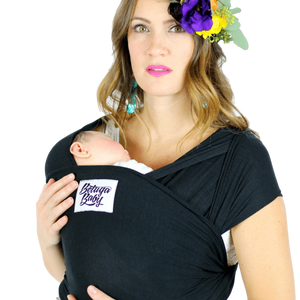 The Sawyer Baby Wrap - Black